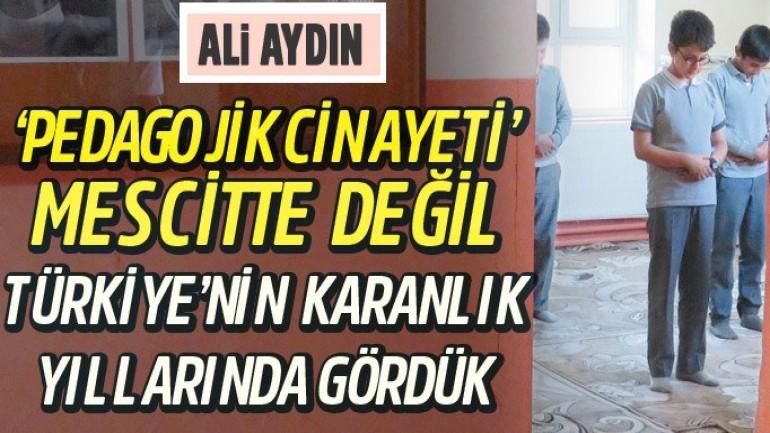 Genel Sekreter Ali Aydın Karar için Yazdı