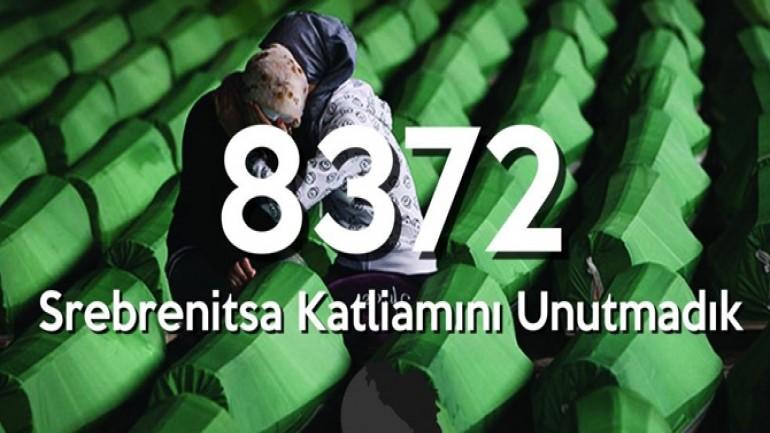 Srebrenitsa Katliamını Unutmadık