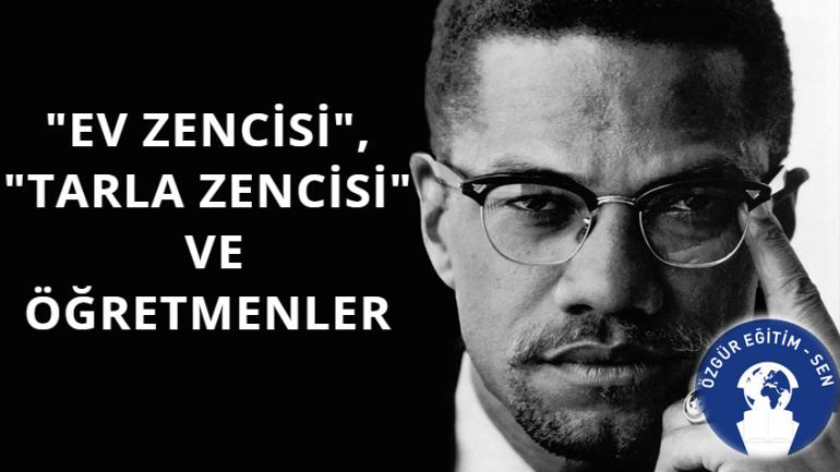 Ali Aydın Öğretmenlere Malcolm X ile Seslendi