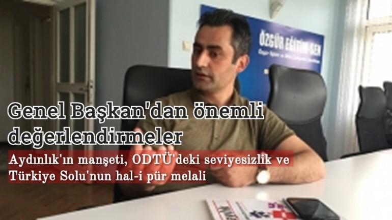 Türk Solu üzerine çarpıcı değerlendirmeler