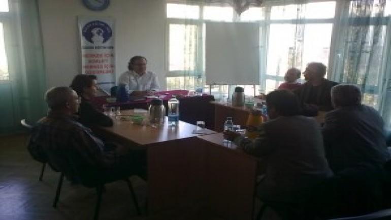 ARGE toplantısı ve tespitlerimiz (2012-01-03)