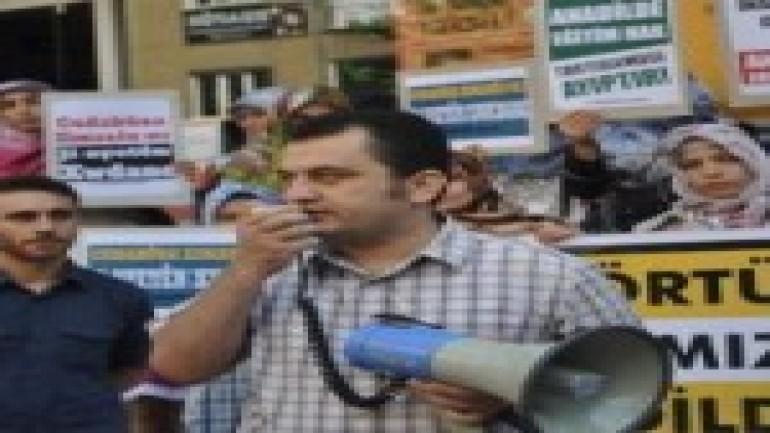Anadil ve Başörtüsü Yasağı Protesto Edildi (2012-01-03)
