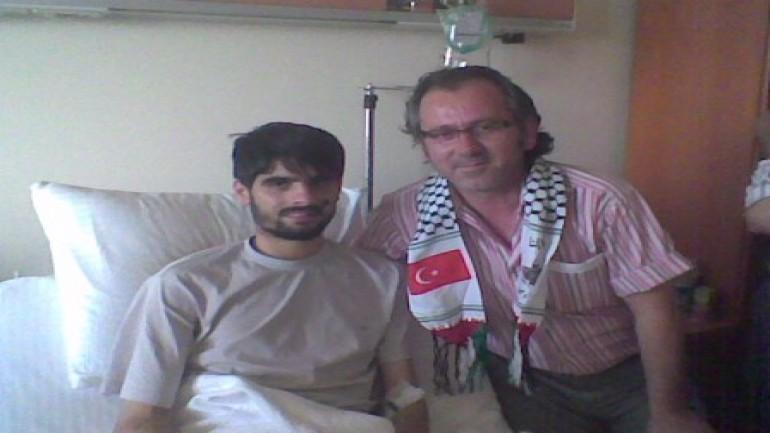 Hastanedeki Mavi Marmara yaralılarını ziyaret ettik (2012-01-03)