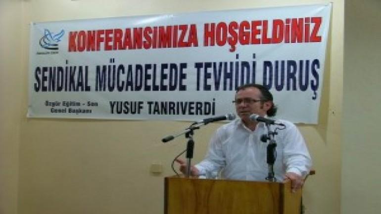 Diyarbakır'da sendikacılık konferansı yoğun ilgi gördü