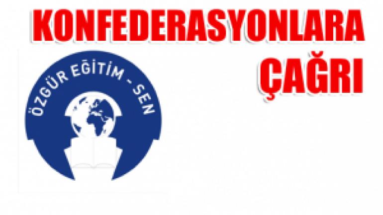 SÖZLEŞME MASASI SENDİKAL REKABET YERİ DEĞİLDİR!