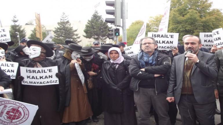 Ankara ABD Elçiliği Önünde NATO Kalkanı Protestosu
