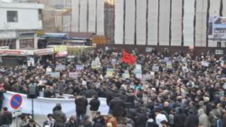 Diyarbakır'da Mısır halkıyla dayanışma eylemi (2012-01-03)