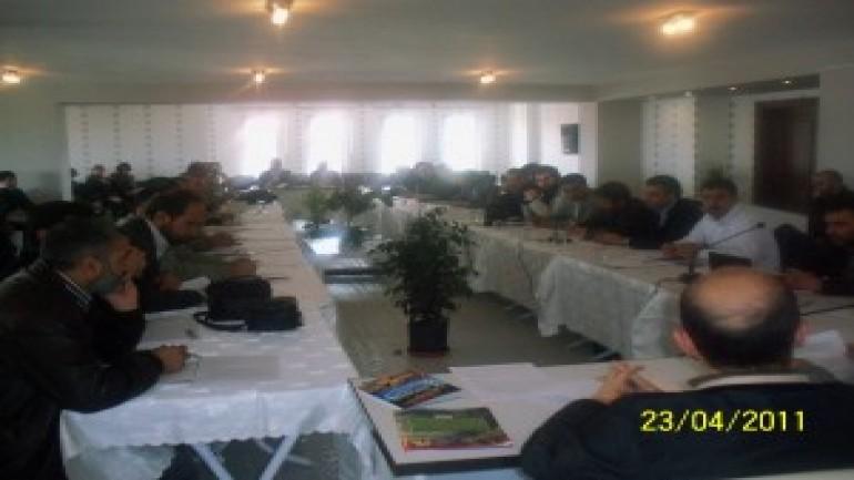 Diyarbakır ve Tatvan Temsilcilerimiz KİAP toplantısındaydı