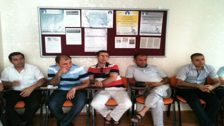 Özgür Eğitim Sen, Üyeleri ile Yıl Sonu Toplantısı Yaptı