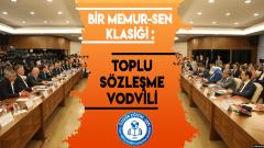 BİR MEMUR-SEN KLASİĞİ : Toplu Sözleşme Vodvili