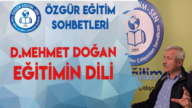 D.Mehmet Doğan: Dile Müdahale ve Dilin İstikrarsızlaştırılması Düşüncenin Kısırlaşmasına Yol Açtı