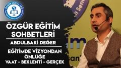 Abdulbaki Değer: Toplum olarak ayartılmak, inanmak, kanmak istiyoruz!