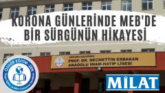 Ali Aydın MEB'deki Skandal Sürgünü Yazdı