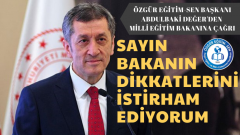 Özgür Eğitim-Sen Başkanı Değer Ziya Selçuk'a Skandal Sürgünü Hatırlattı