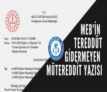 Ali Aydın yazdı: MEB'in Tereddüt Gidermeyen Mütereddit Yazısı