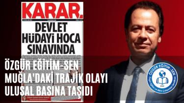 """Muğla'daki """"torpil baskısını"""" ulusal basının gündemine taşıdık"""