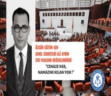 Ali Aydın: Cenaze var, namazını kılan yok!