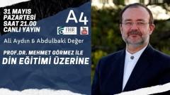 Prof.Dr.Mehmet Görmez ile Din Eğitimi Üzerine